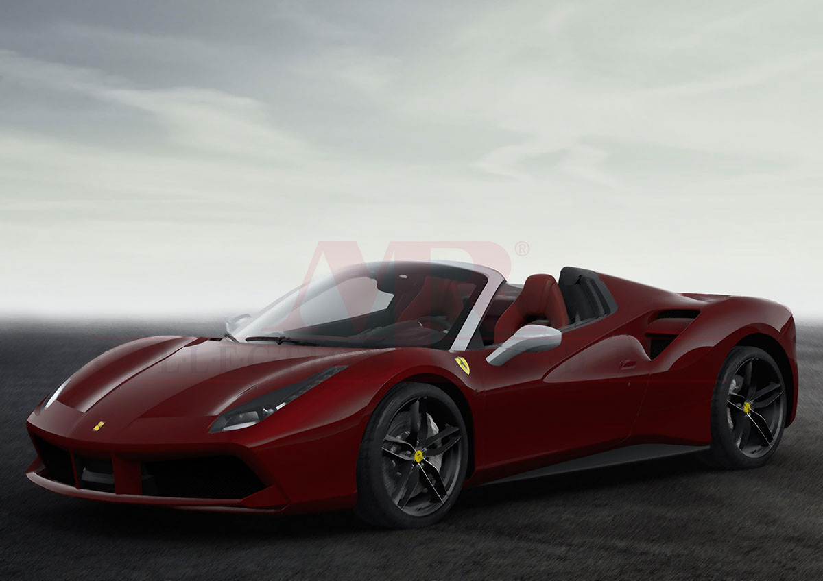 Ferrari 488 Spider Some Like It Red 1 43 Mr Collection Models