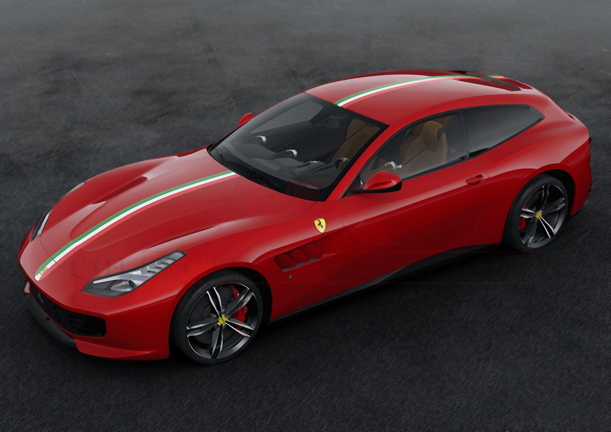 ferrari gtc4 lusso the essence of a ferrari 1 43 mr collection models. Black Bedroom Furniture Sets. Home Design Ideas