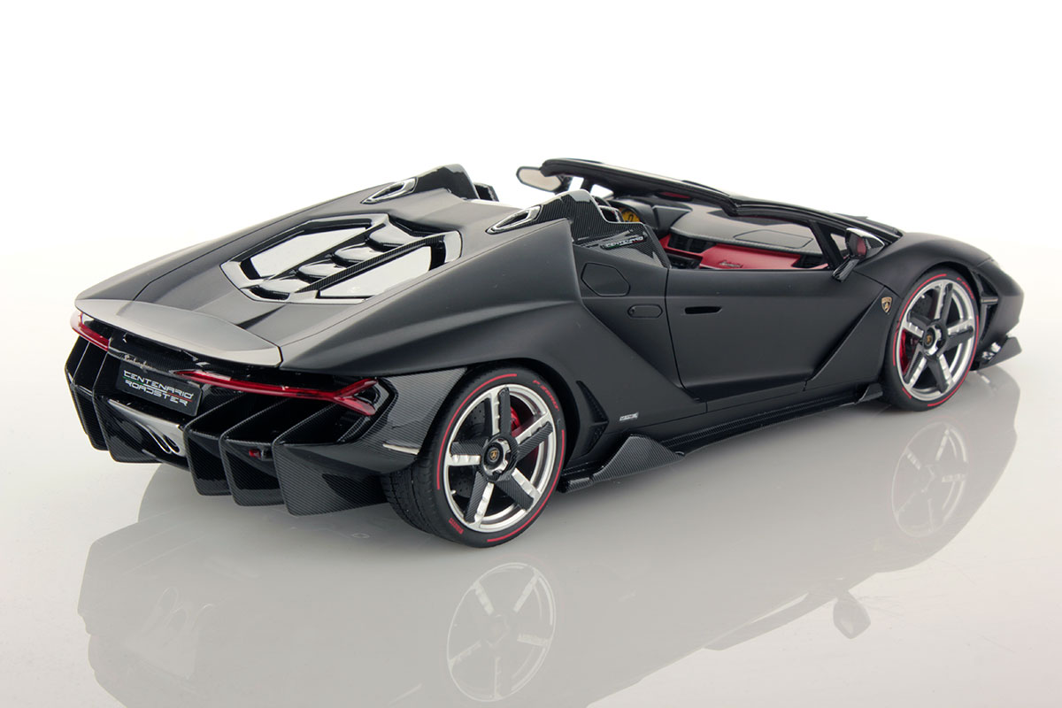 Lamborghini Centenario Roadster 1 18 Mr Collection Models