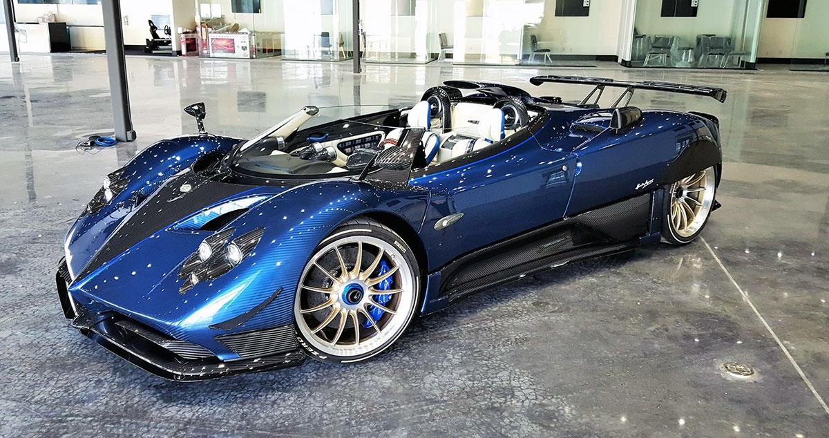 Pagani Zonda HP Barchetta 1:43 | MR Collection Models