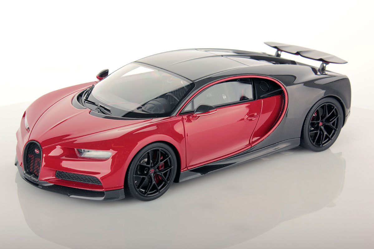 Bugatti Chiron Sport With Open Wing 1 18 Mr Collection Models