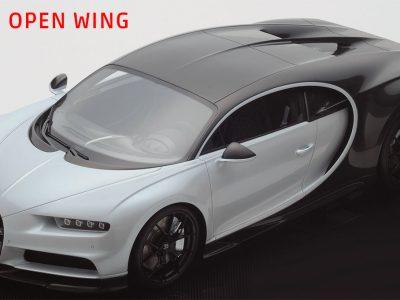 Bugatti Chiron Sport open wing 1:18