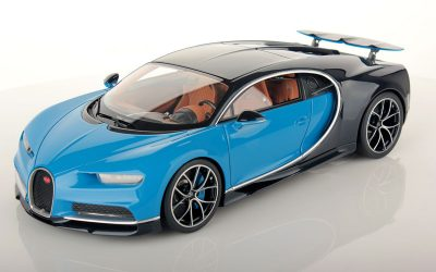 Bugatti Chiron 1:18 wing up