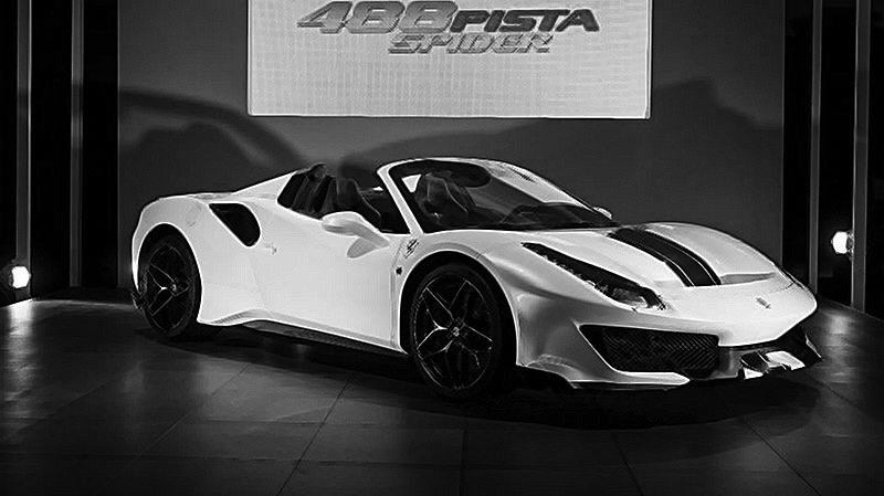 Ferrari 488 Pista Spider 1 18 Mr Collection Models
