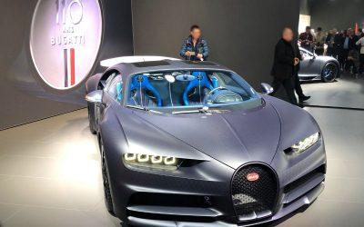 Bugatti Chiron Sky View 110 Ans