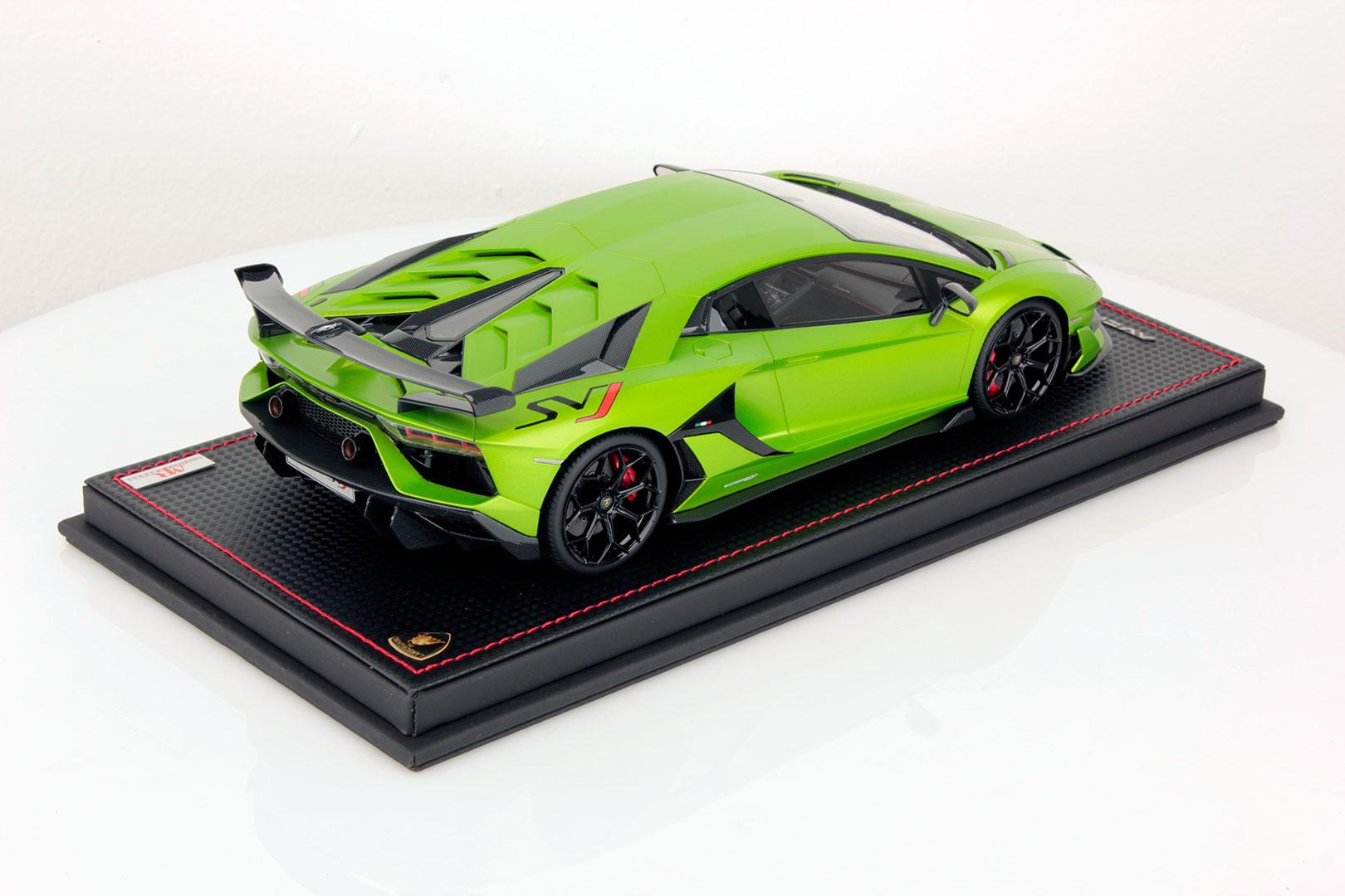 Lamborghini Aventador Svj 1 18 Mr Collection Models