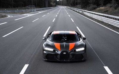 bugatti chiron pre production